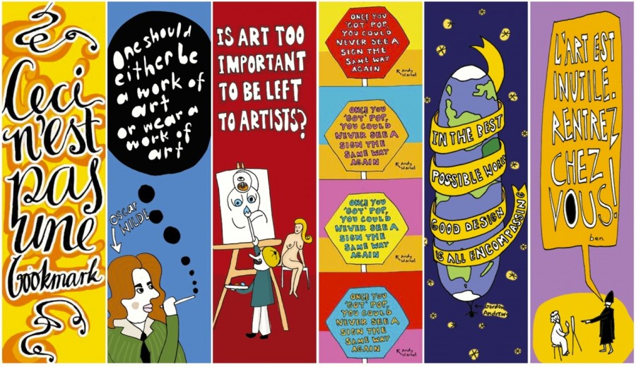QCA Art Theory bookmarks
