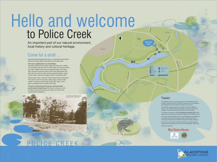Police Creek node 1