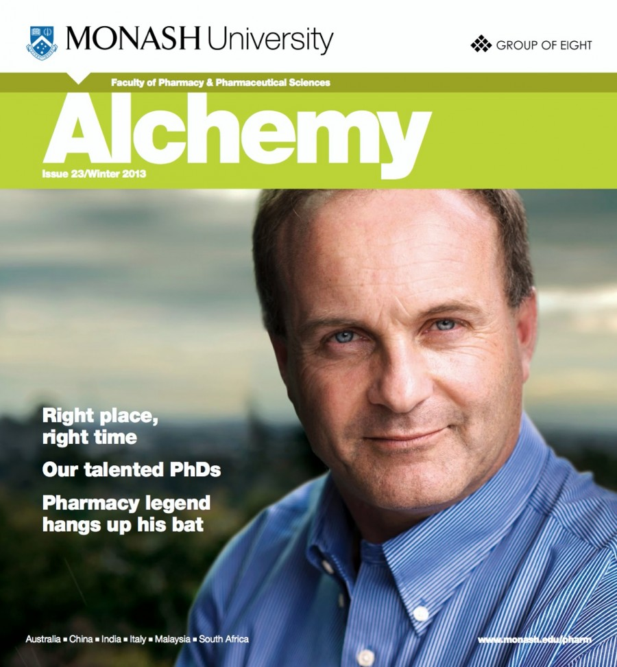 Monash Alchemy Mag Winter 2013 cover