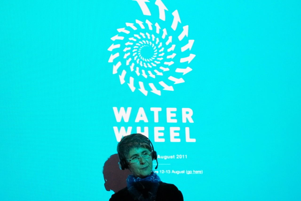 Waterwheel launch 2