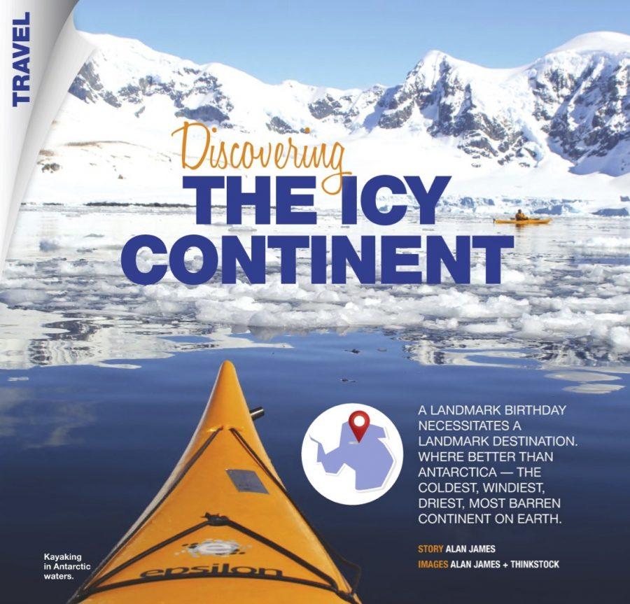 Antarctica Road Ahead Aug 2016